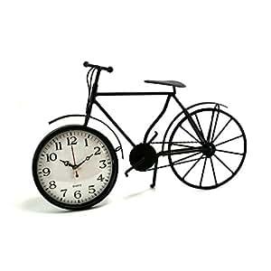Horloge Quartz Vélo Noir