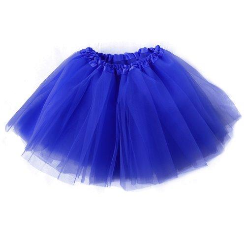 Mangotree Mädchen Tütü Minirock Organza Pettiskirt 3 Layers Petticoat Tanzkleid Unterrock Perfekt für ()