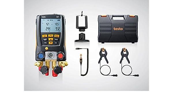Testo 557 set 0563 1557 digitale monteurhilfe mit bluetooth