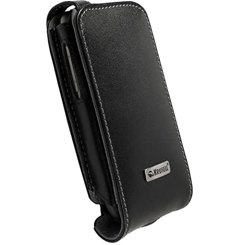 Krusell Orbit Flex Etui en cuir pour HTC Google Nexus One - Noir