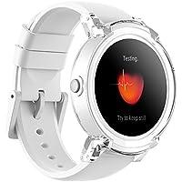 Lo Smartwatch Più Confortevole Ticwatch E Ice, Display OLED 1,4 pollici, Android Wear 2.0, Compatibile con iOS 9.0+ Apple iPhone e Android 4.3+ Samsung, Huawei, LG, Asus, Wiko,Nokia,Sony Ericsson,Alcatel, Vivere una vita organizzata