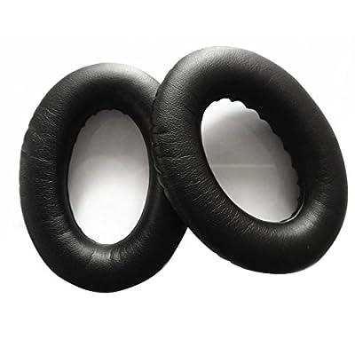 Pixnor Une Paire De Remplacement PU Doux Mousse Casque Oreillettes Ear Pads Oreillettes Pour BOSE QC2 QC15 AE2 AE2i AE2w (Noir) de Pixnor