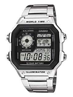 Casio Collection Men's Watch AE-1200WHD-1AVEF (B0099M2IQY) | Amazon Products