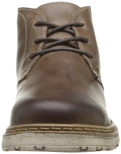 Freeman T. Porter Bridwell, Chaussures basses homme Marron (Vachette Marron Foncé)