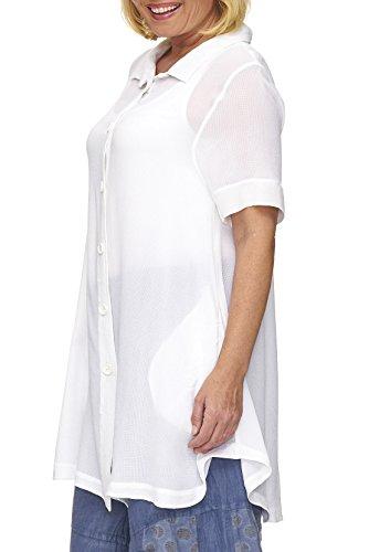 Kekoo Bluse Weiß
