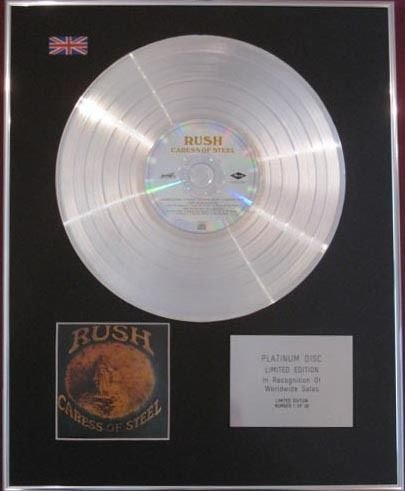 rush-cd-platinum-disc-caress-di-acciaio