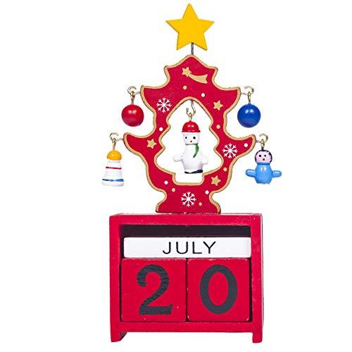 Dorical Weihnachten Dekoration Basteln Weihnachten Mini Aus Holz Kalender Weihnachten Verzierung Zuhause Dekoration Handwerk Geschenk