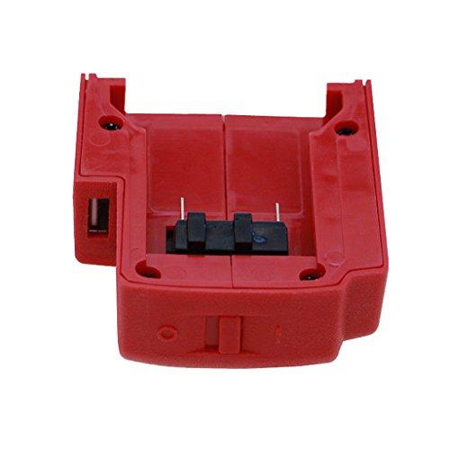B Blesiya Akku Ladegeräte für Milwaukee M18 Lithium-Ionen Batterie, Profi Qualität