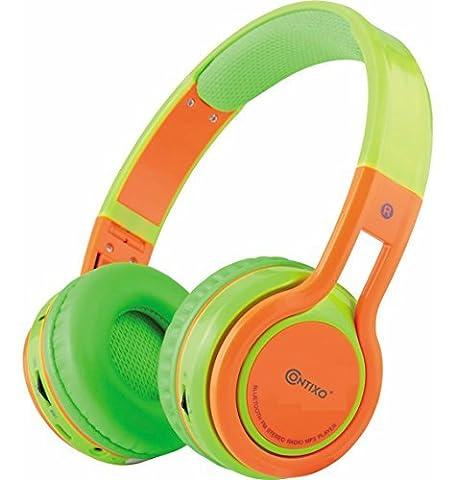 Contixo kb-2600Kid Safe 85dB über das Ohr Faltbare Kabellose Bluetooth-Kopfhörer