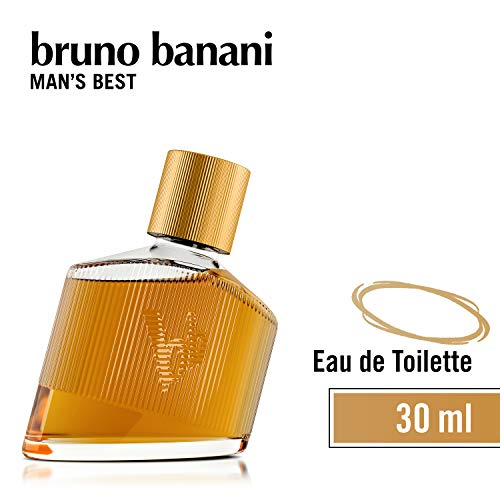 bruno banani Man's Best - Eau de Toilette Herren Parfüm Natural Spray - Eleganter, maskuliner Premiumduft für Männer - 1er Pack (1 x 30ml)
