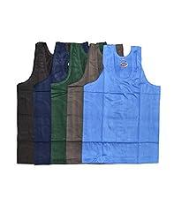 MIRRA Junior boys color vest,baniyan 5 Piece pack (2-3 Years)