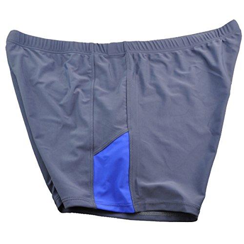 KUWOMINI.Comfortable Badehose Flach Badehose Herren-Badehose Erhöhung Blue