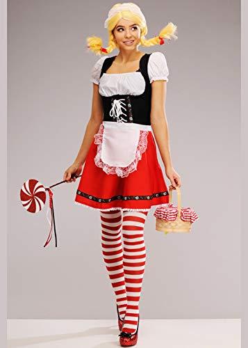 Hänsel Gretel Kostüm - Magic Box Int. Gretel-Kostüm für Damen Small (UK 8-10)