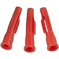 Flossendübel aus Nylon für Holzschrauben oder Spanplattenschrauben Spreizdübel