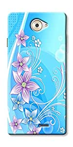 DigiPrints High Quality Printed Designer Soft Silicon Case Cover For Panasonic P71