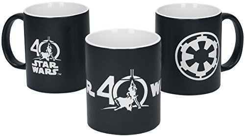 Star Wars 0281940th aniversario Deluxe taza
