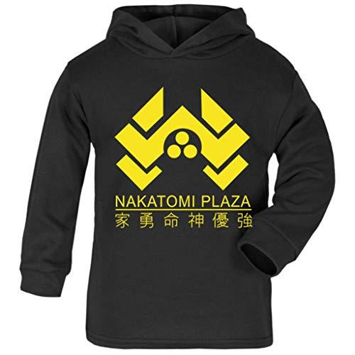 Cloud City 7 Die Hard Nakatomi Plaza Logo Baby and Kids Hooded Sweatshirt