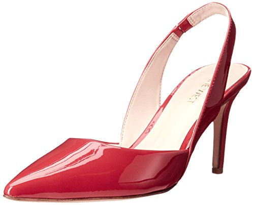 Nine West Rollover pompa Dress sintetico Red synthetic