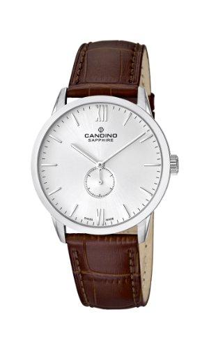 Candino Herren-Armbanduhr XL Analog Quarz Leder C4470/2