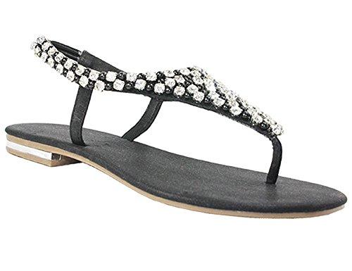 Envy , Escarpins sandales femme Noir