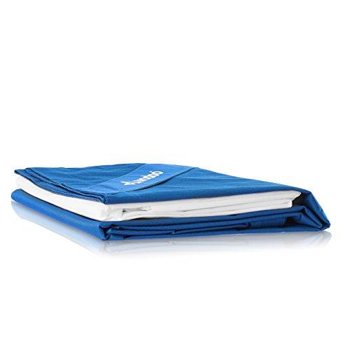 Livodoo® Premium XXL Riesen-Sitzsack-Hülle Sitzsack Außenbezug 140 x 180 cm 8 verschiedene Farben In-Outdoor in Blau