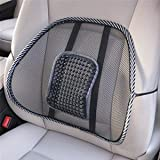 #5: DFS's Premium CAR / CHAIR SEAT BACK REST with Mesh support (New Edition) - Car Seat, Office Chair Support