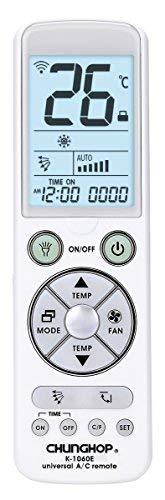 Telecomando universale per climatizzatore condizionatore - display led con luce - torcia led - premium