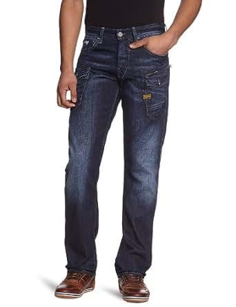 G-Star Men's Nattacc Straight Jeans, blue, W31/L36