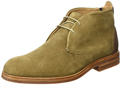 Hudson London Herren Matteo Suede Chukka Boots, Braun (Tobacco), 42 EU (Up Ferse-lace Ankle Boot)