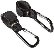 Prolyr Gancho aluminio silla paseo carrito bebé – Pack 2, Cuelga bolsas, bolsos, mochilas, etc, Multiusos, Aju