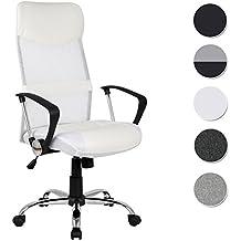 Chaise De Bureau Pivotante Blanc