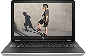 HP 15-BR011TX 2017 High-Performance 15.6-inch HD Laptop (7th Gen Core i5-7200U/8GB/1TB/Windows 10/2GB Graphics/DVD-RW, MS Office H&S 2016), Natural Silver