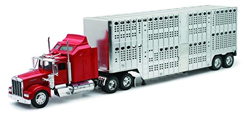 Kenworth-lkw-modelle (NewRay 10783 - Modell-Tiertransporter