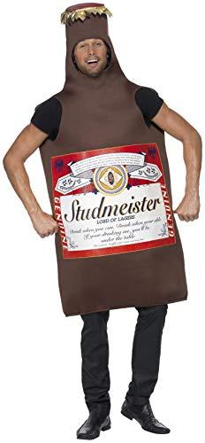Studmeister Bierflasche Kostüm Der Lord der Lagerbiere, One Size (Armee Mann Kostüm Großbritannien)