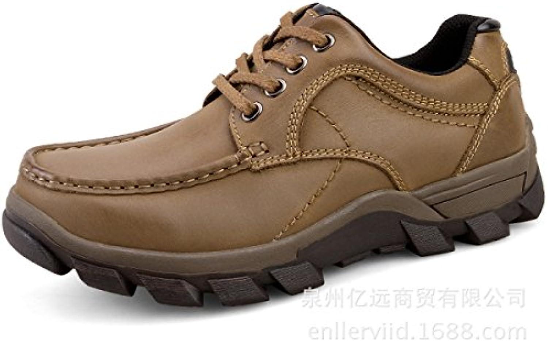 Primavera Cuero Zapatos Casuales Zapatos De Hombres Cómodos Juegos De Pies Zapatos Perezosos Zapatos Para Conducir...