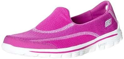 skechers go walk 2 spark damen sneakers schuhe. Black Bedroom Furniture Sets. Home Design Ideas