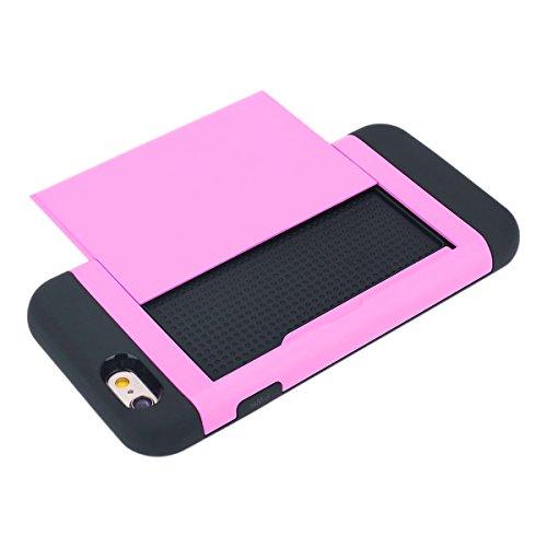 Ekakashop iphone 6 4.7 pollici Custodia, 2-in-1 ultra sottile-Fit molle flessibile di caso Cover posteriore per iphone 6S, Ragazza Ragazzo Crystal Clear Soft Cover gel TPU Silicone Protezione Sottile  A #7