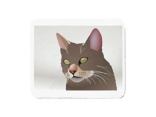 Mousepad with Layout of a Cartoon (Feral Cat House)