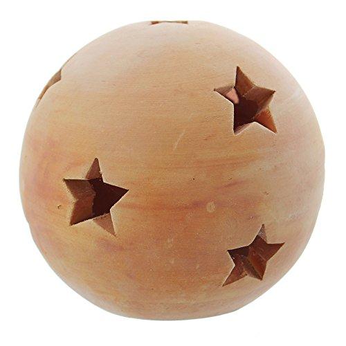 "Terracotta-Kugel \""Sterne\"", groß"