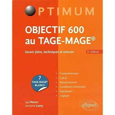 Objectif 600 au Tage-Mage® Édition 2016