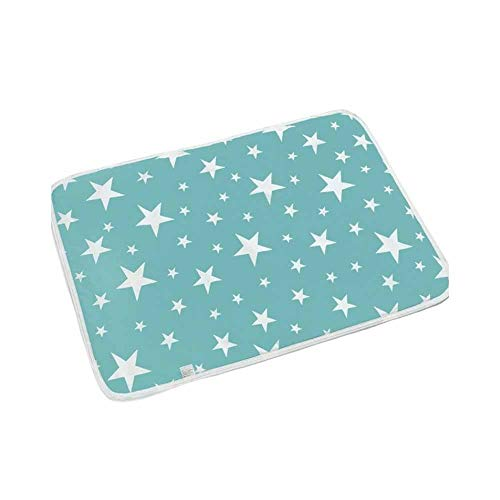 Pad Bett Pack (Kinder Erwachsene wasserdicht Bett Pad, Menstruationskissen Pack Baby Kind Wickelauflage 110x80cm)