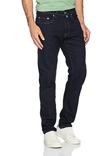 Pierre Cardin Herren Tapered Fit Jeans Futureflex Blau (Rinse Dark Denim 04)