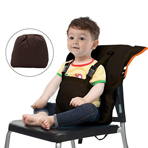Vine Chaise Haute de Voyage Portable Easy Seat | Rehausseur Chaise Enfant,Housse de Siège pour...