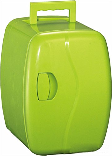 XW 4L Auto Kühlschrank Mini Kühlschrank Mit Warmen Und Kalt , Green,green