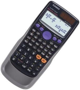 Casio FX-85GTPLUS - Calculadora científica (260 funciones, LCD, 10 dígitos), color negro