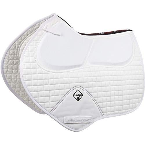 LeMieux Sport pro-Sorb System Schließen Kontakt quadratisch Schabracke L weiß