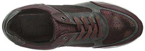 Marco Tozzi 23710, Sneaker Basse Donna Viola (Violett (VINO ANTIC COM 518))