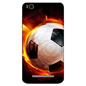 Bhishoom Football Fever - Premium Best Quality Designer Printed Mobile Phone Ultra Slim Tough Protective Case & Cover For Xiaomi Mi 4I