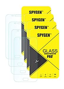Spygen Combo Set Of 4 Samsung GALAXY G550 HD+ 9H Hardness Toughened Tempered Glass Screen Protector