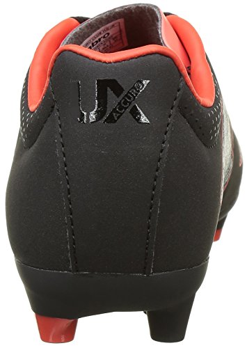 Umbro Ux Accuro Club Hg - Jnr, Chaussures de Football Entrainement garçon Noir (Ecb/Black/Metallic/Grenadine)